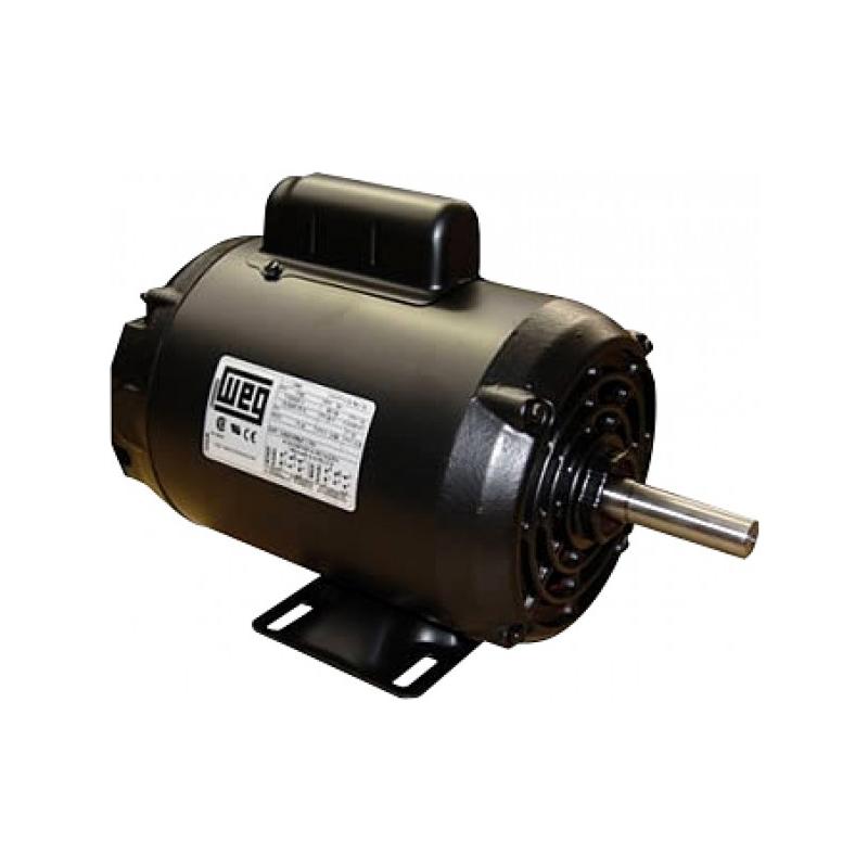 Motor Elétrico 1/2CV Monofásico Baixa Rotação IV Polos Weg