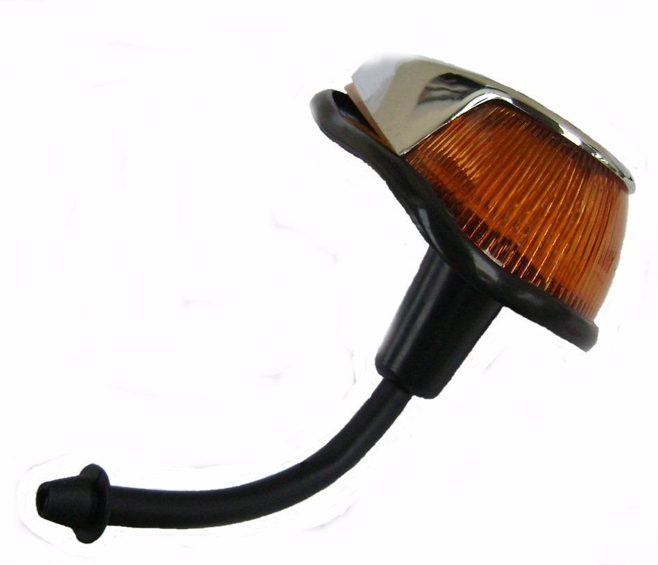 Lanterna Dianteira Fusca Com Capa Cromada (Autoletric) Unidade