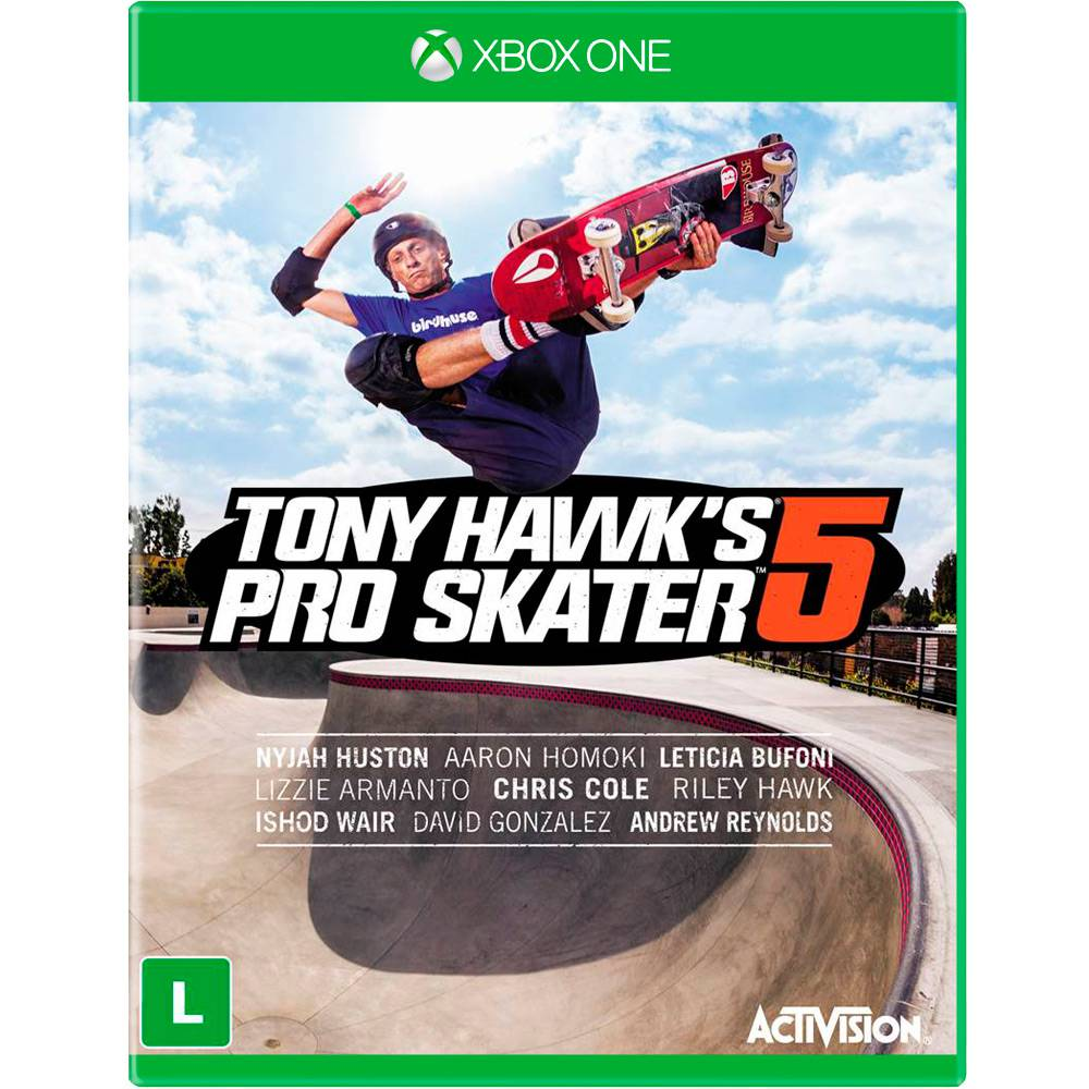 TONY HAWK PRO SKATER 5 XBOX ONE