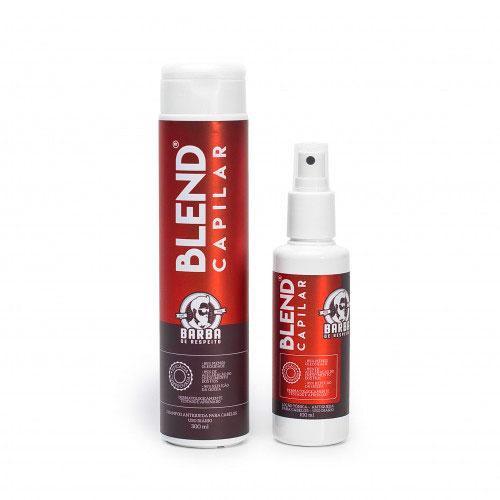 Blend Capilar - Kit Tratamento Antiqueda Para Cabelos Barba de Respeito