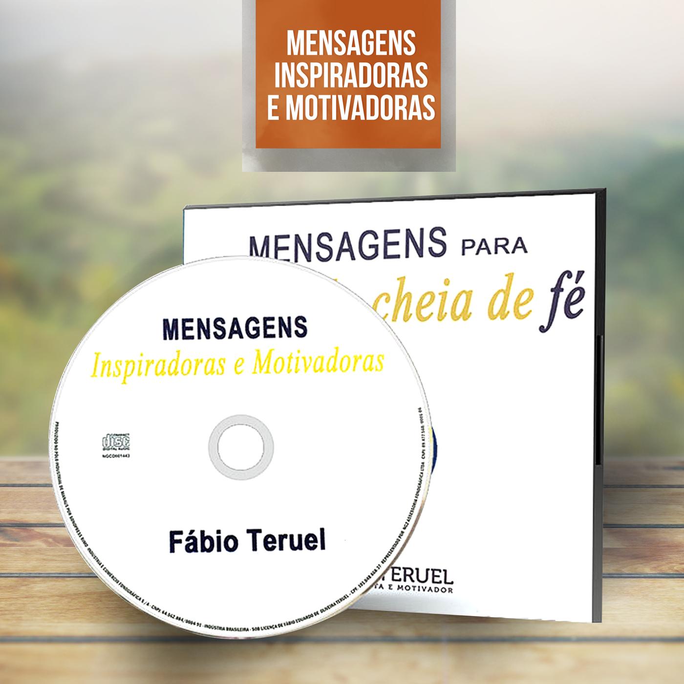 CD Mensagens para uma vida cheia de Fé - Fábio Teruel