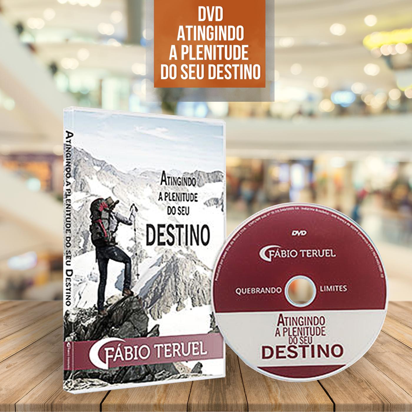 DVD Fábio Teruel - Atingindo a Plenitude do seu Destino
