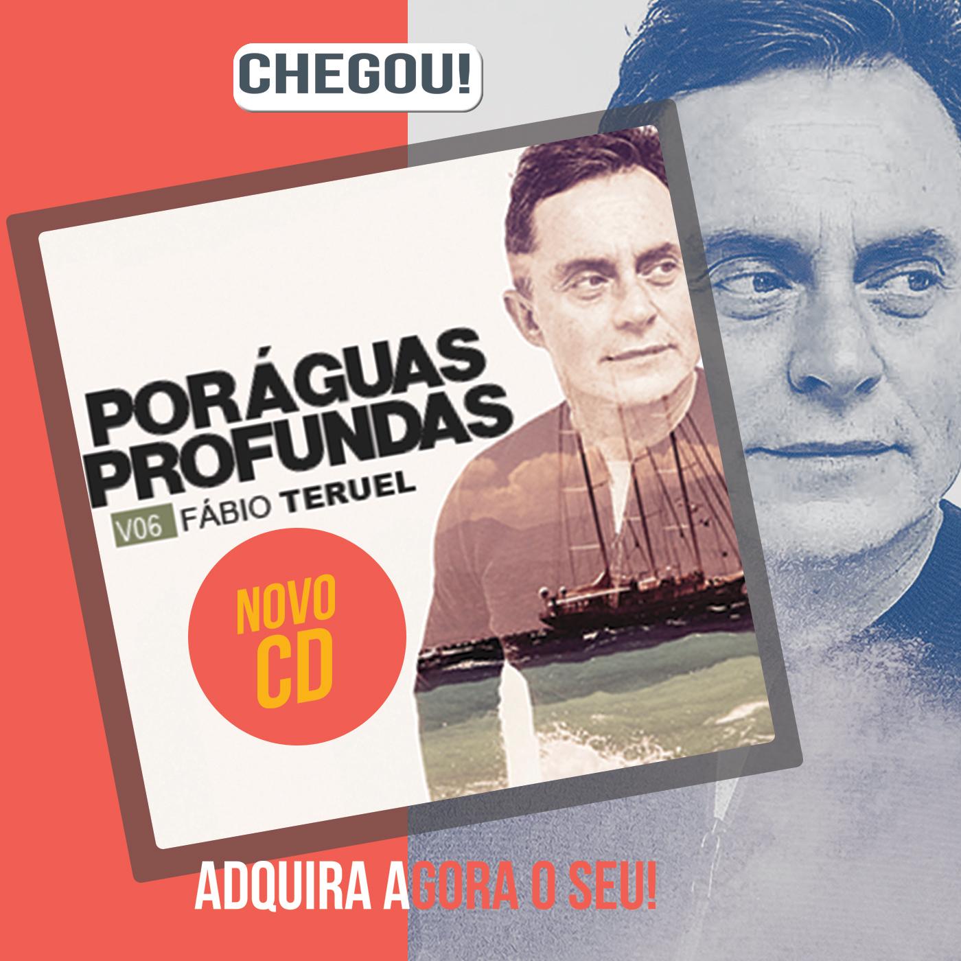 CD  Por águas profundas - Fábio Teruel
