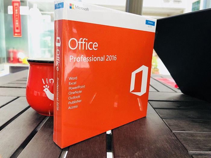 Microsoft Office 2016 Professional Plus Fpp Box Lacrado