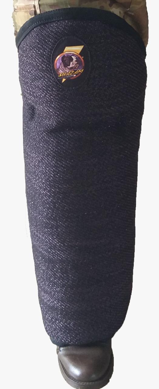 Jambiere em tecido de bite - adulto com velcro