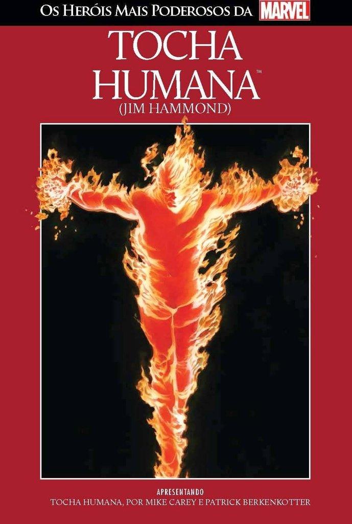 Tocha Humana: Jim Hammond - Os heróis mais poderosos da Marvel - Vol. 8