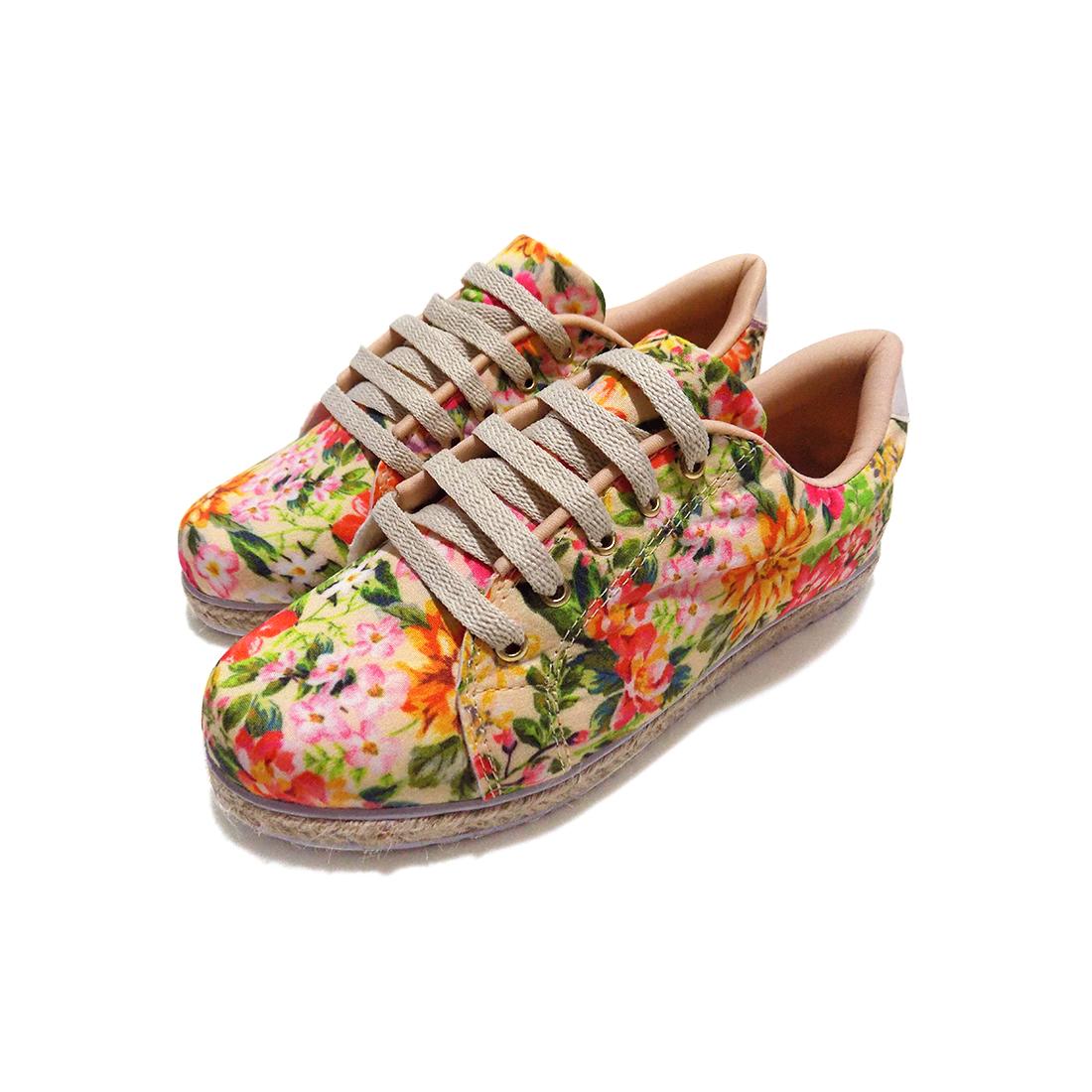 Tênis Andanza Floral 17010