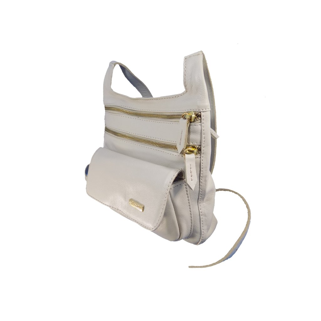 Bolsa de Couro Transversal Off White 1447.94.62