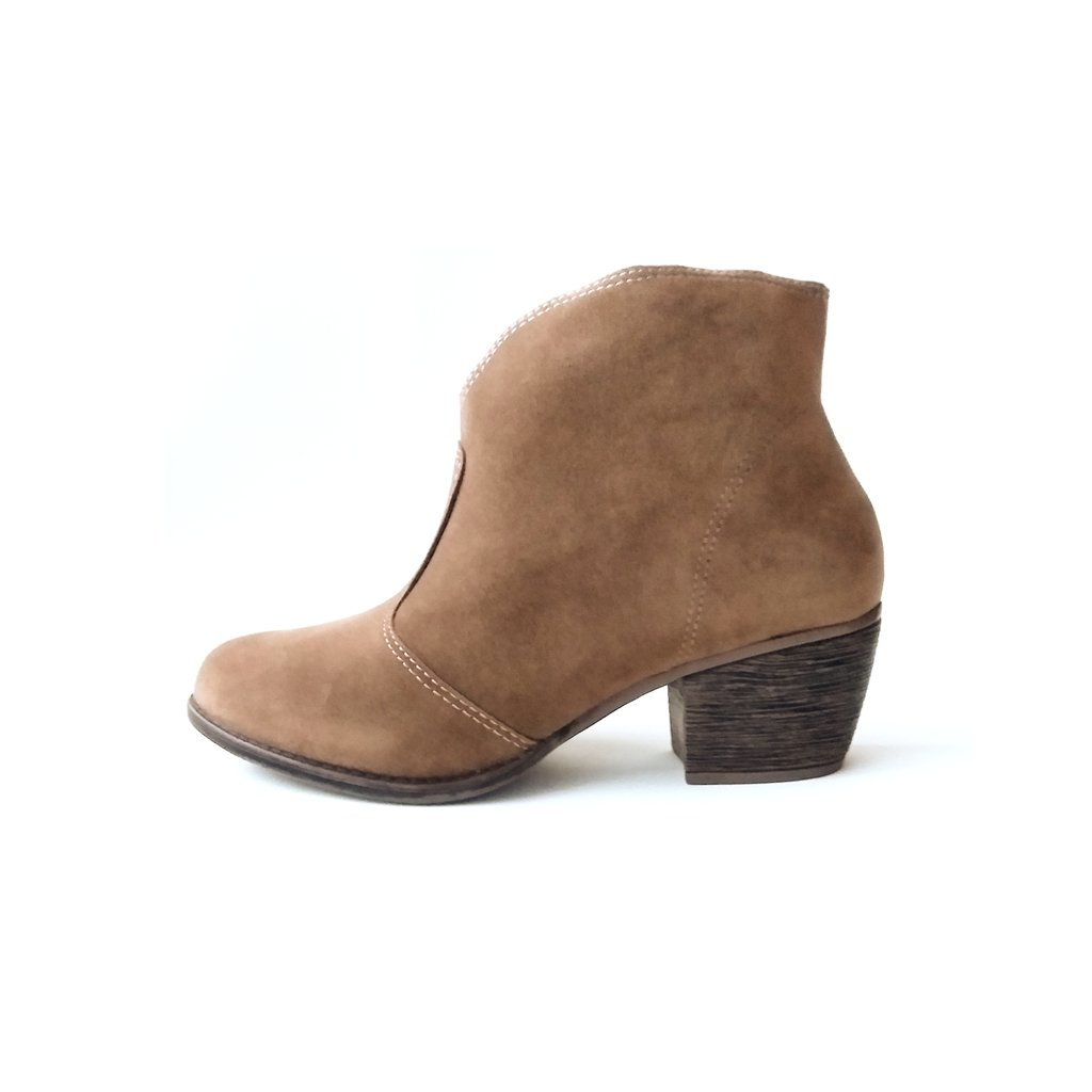 Bota Ankle Boot Moleca Newport