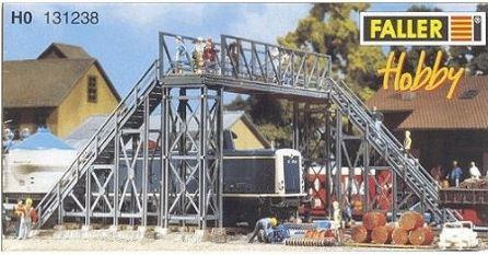 Faller 131238 - HO Railway Foot Bridge