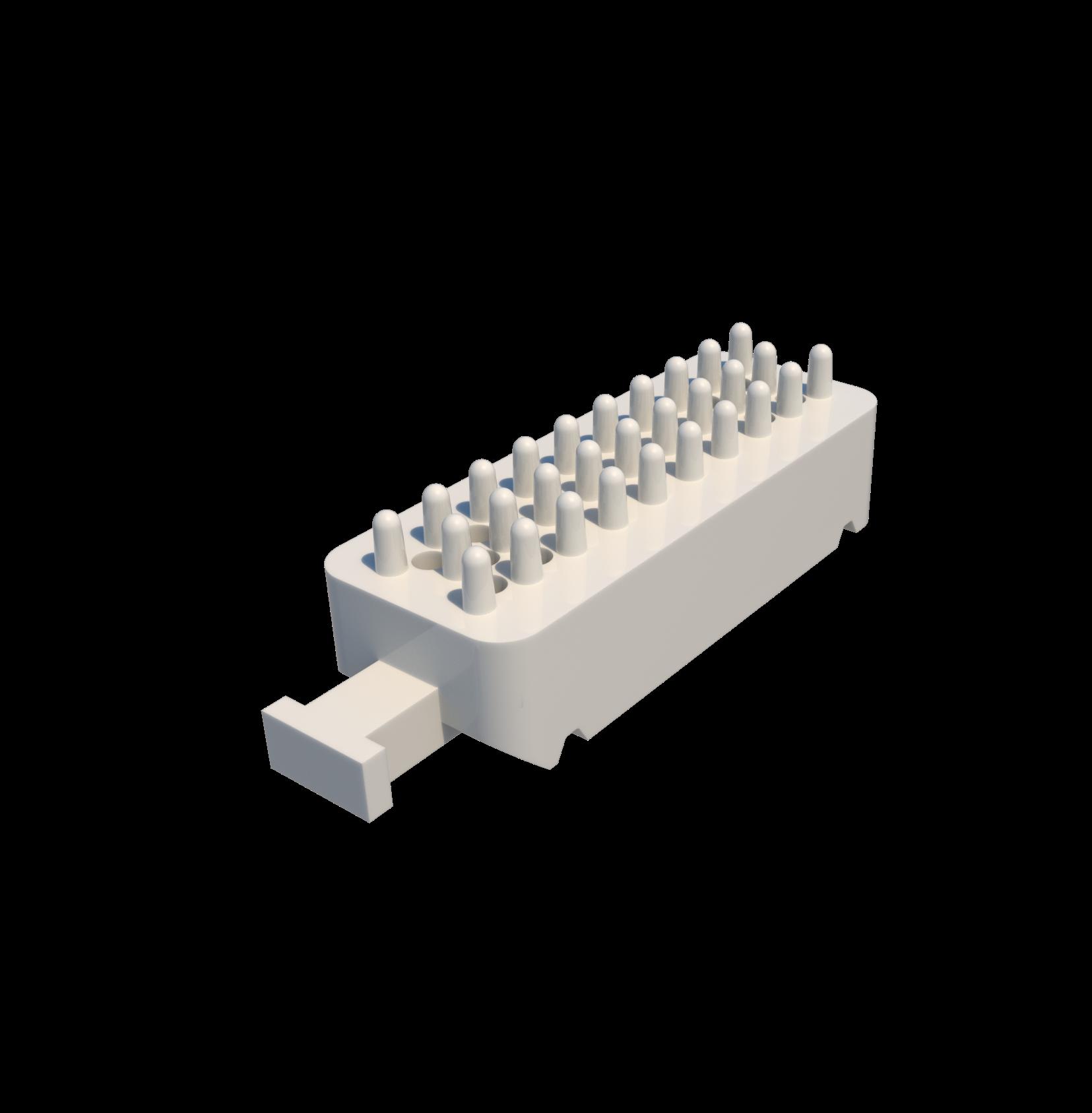 Placa base gesso arcada parcial (Pacote com 50 peças)