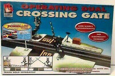 Life-Like Trains 8309 - HO Operating Dual Crossing Gate