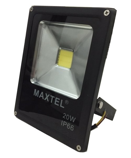 Refletor Holofote Super Led - 20W - Branco Frio - Maxtel