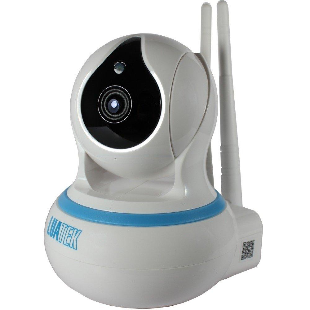 Câmera IP Wireless HD Sem Fio WiFi RJ45 Visão Noturna Gravação Nuvem Onvif  Luatek