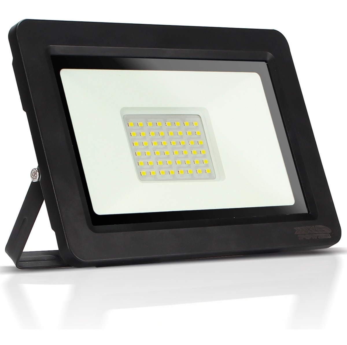 Refletor Holofote LED Slim SMD  30W  Branco Frio  Bivolt