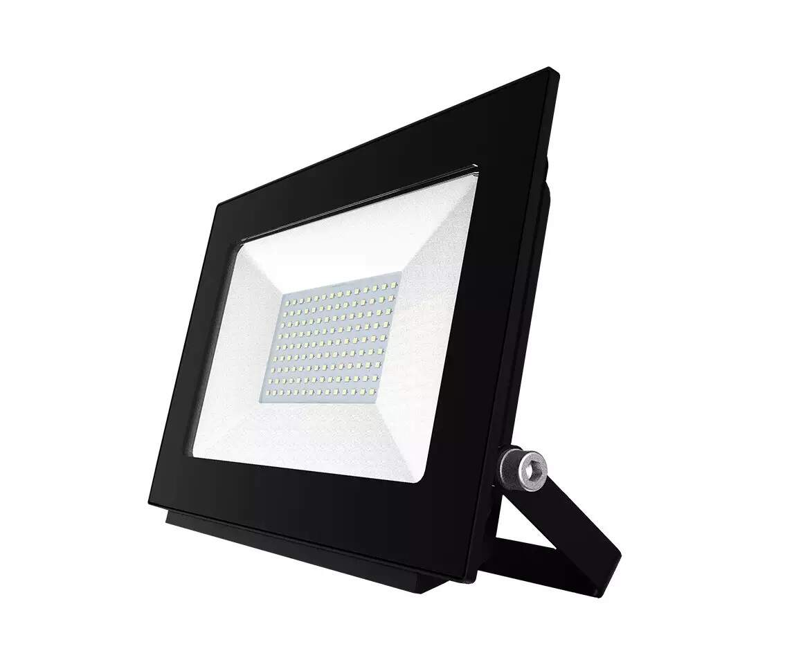 Refletor Holofote LED RTK Slim SMD 100W Branco Frio Bivolt