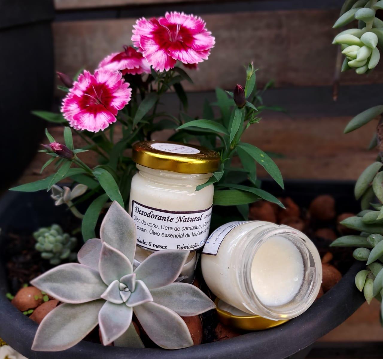 Desodorante Natural  Melaleuca e Lemongrass