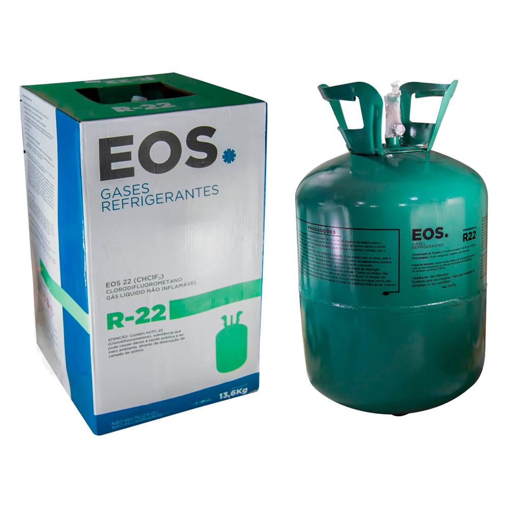 Gás R22 13,6Kg EOS