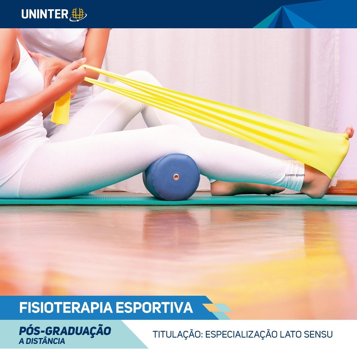 Pós-graduação Fisioterapia Esportiva EaD
