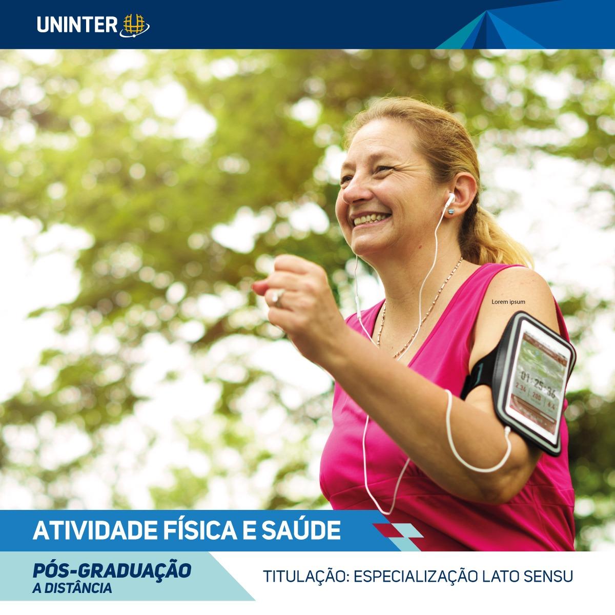Pós-graduação Atividade Física em Saúde EaD