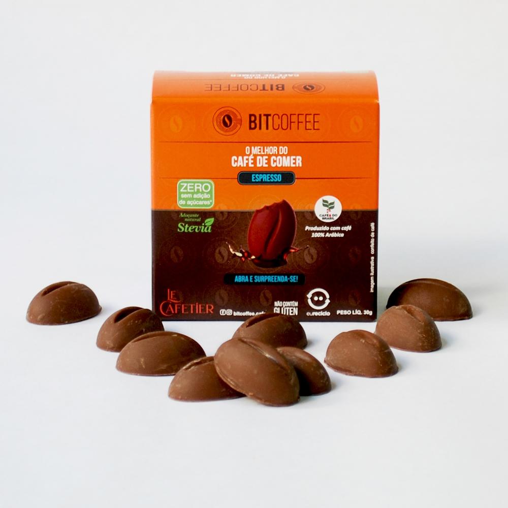 Confeito de Café Sabor Espresso 30g - Zero Açúcar