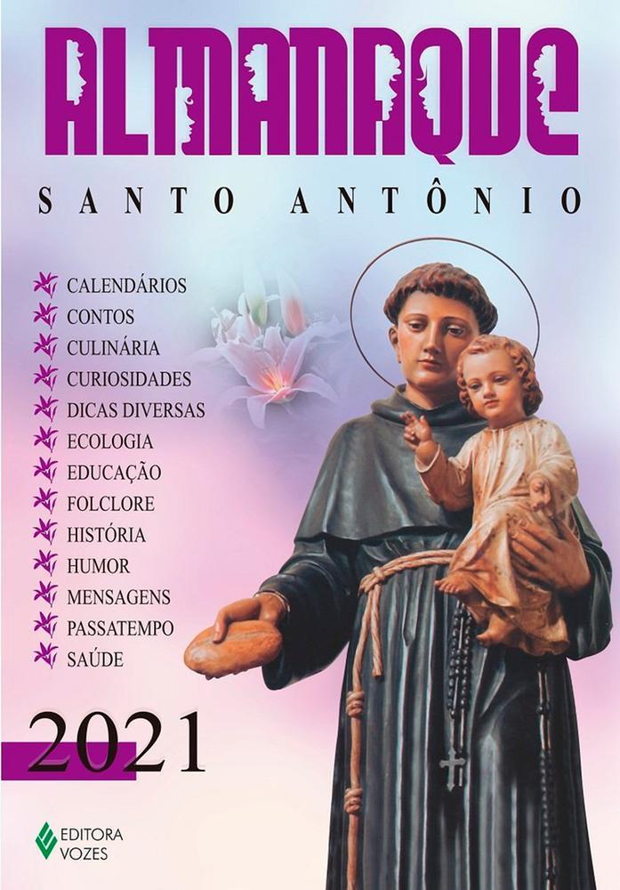 Almanaque Santo Antônio - 2021