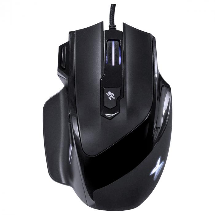 Mouse Gamer 7200 DPI Com Ajuste de Peso - VX Interceptor