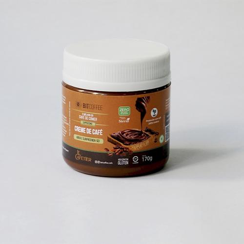 Creme de Café Sabor Cappuccino 170g - Zero Açúcar