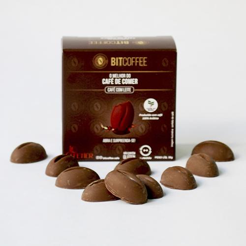 Confeito de Café Sabor Café com Leite 30g