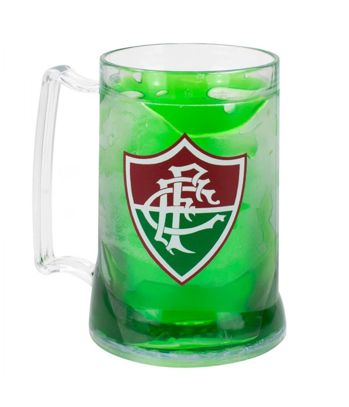 Caneca Gel Isolante Térmico 400ml - Fluminense