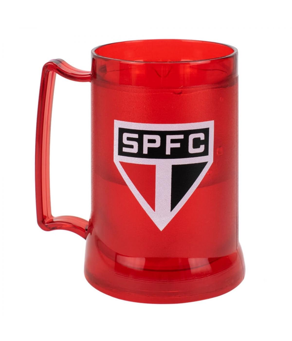 Caneca Gel Isolante Térmico 400ml - São Paulo SPFC