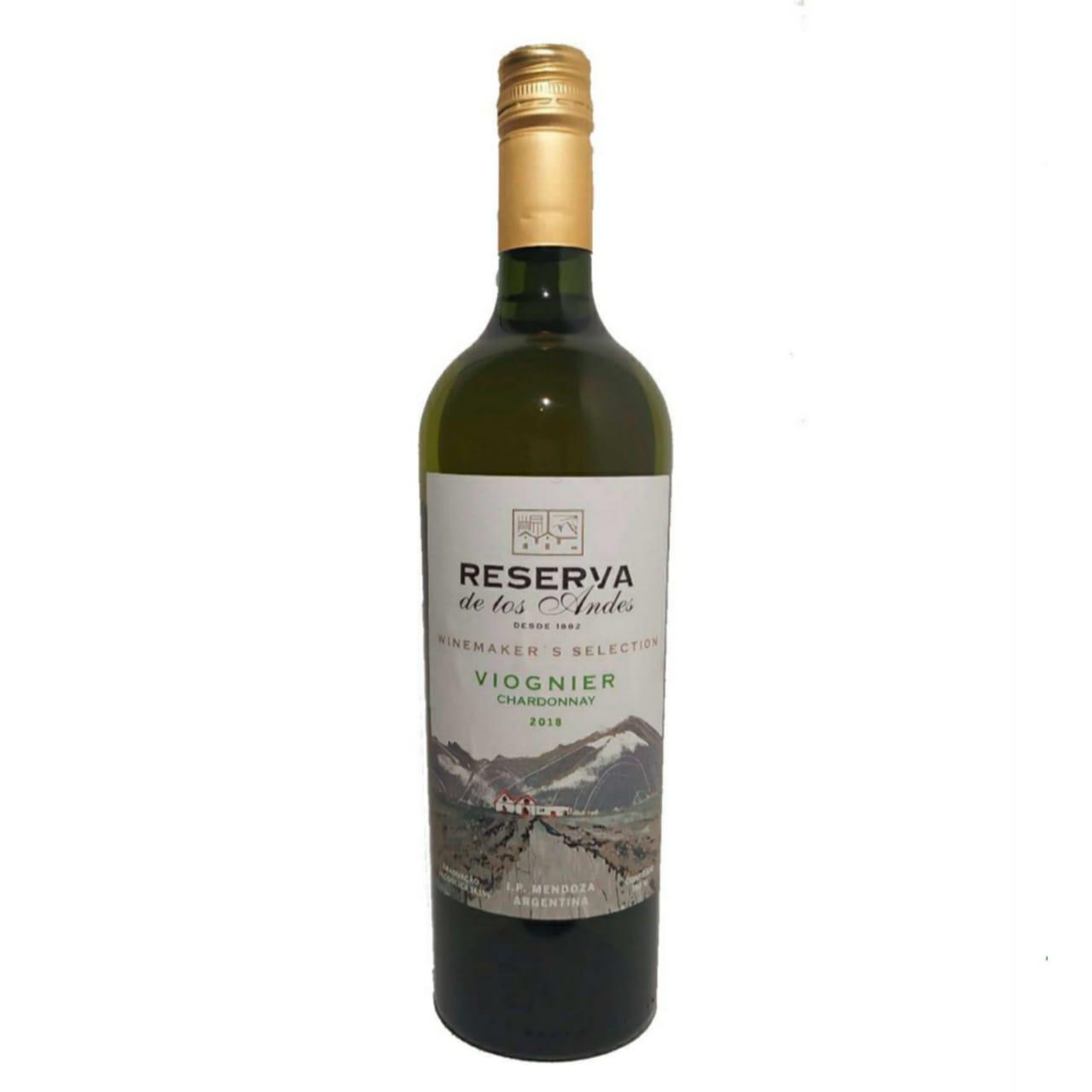 Reserva de Los Andes Winemaker's Selection Blend Viognier e Chardonnay (750ml)