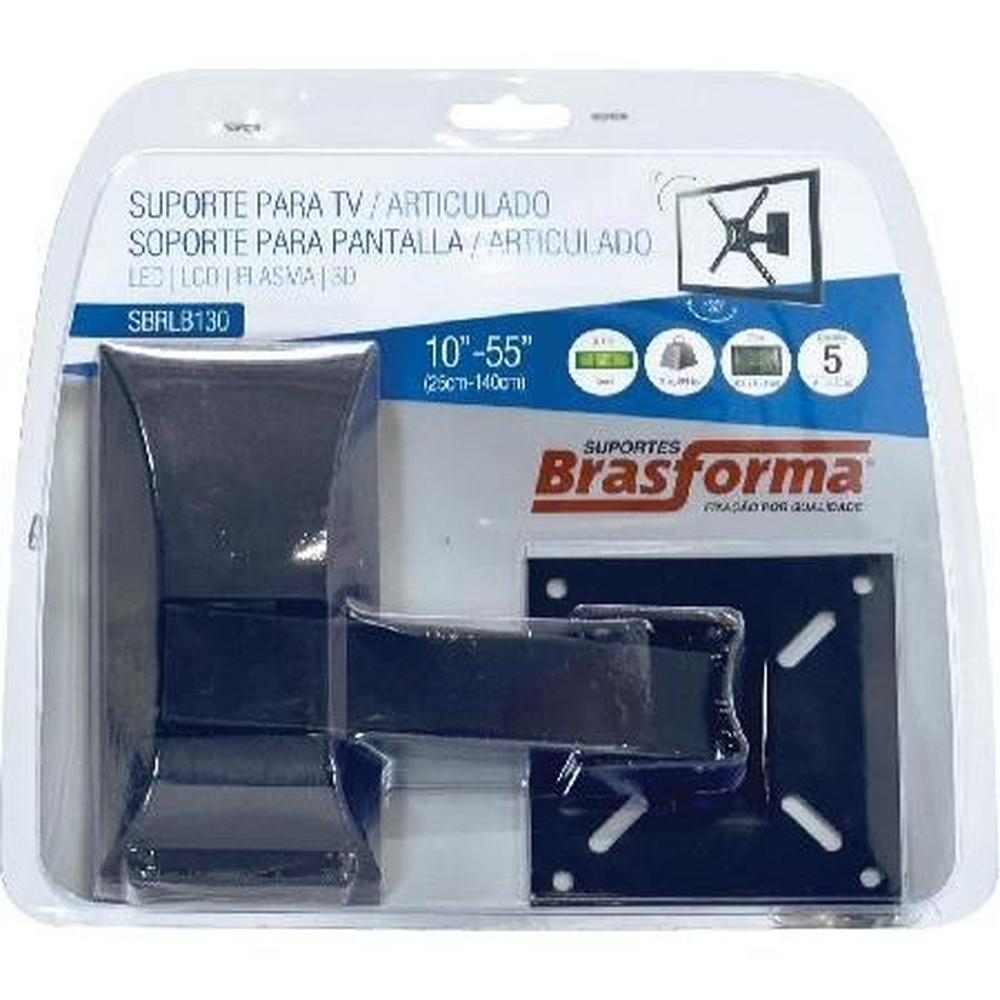 Suporte Para Tv Lcd / Plasma De 10 A 55 Articulado Sbrlb130