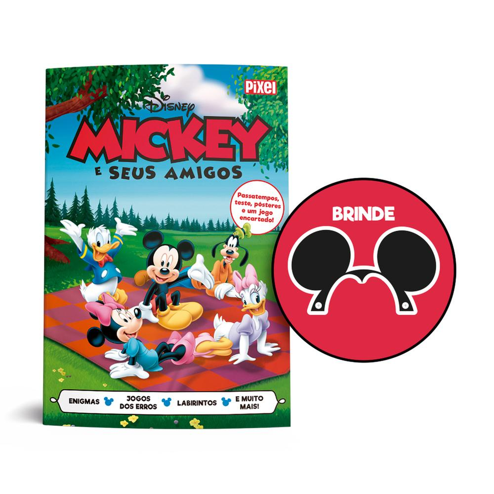 Livrão do Mickey e seus amigos - Acompanha a orelha do Mickey
