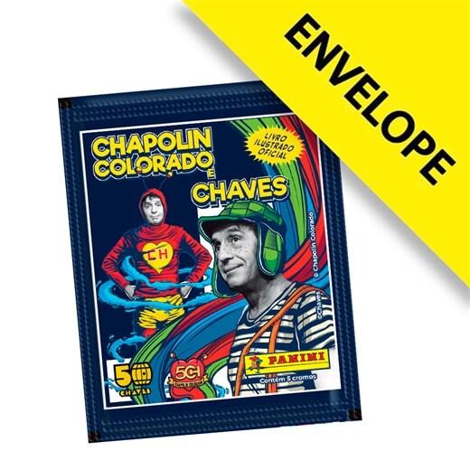 Figurinhas Chaves e Chapolin Colorado - Envelope com 5 cromos