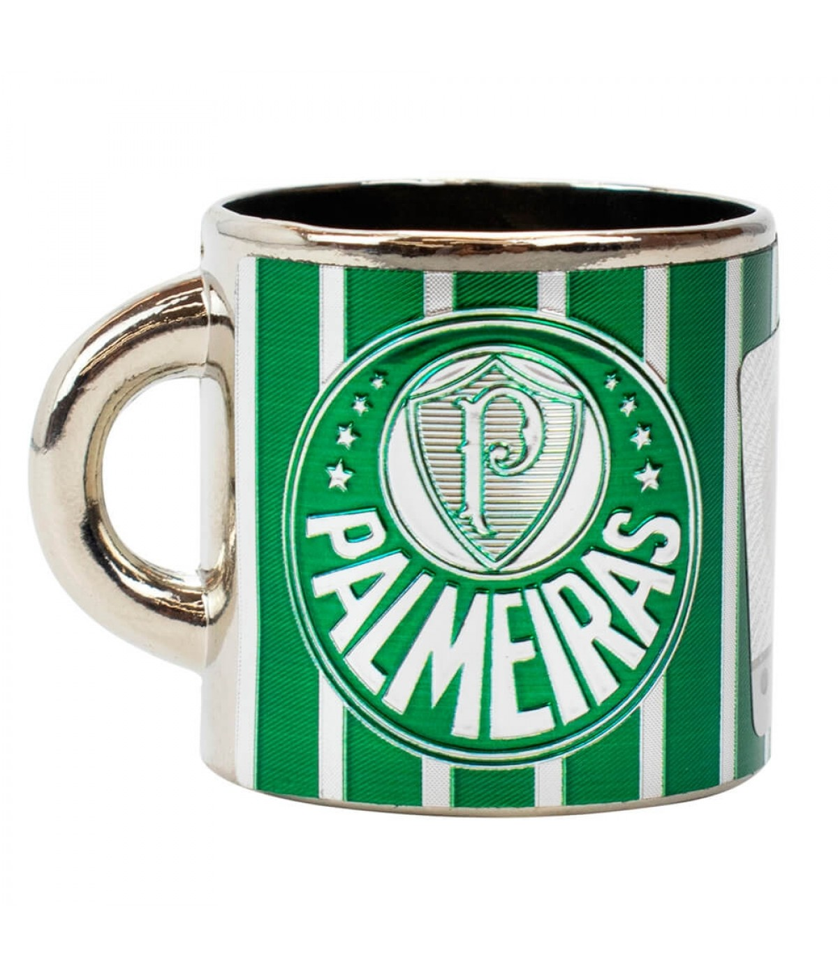 Mini Caneca Decorativa Ímã Metal 3.5cm - Palmeiras
