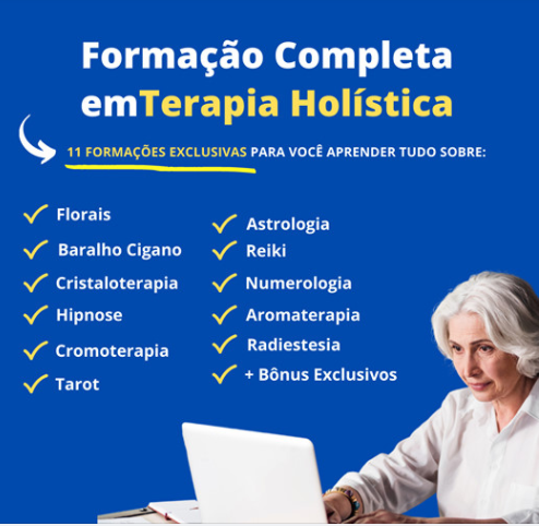 Formação Completa em 11 Terapias Holísticas