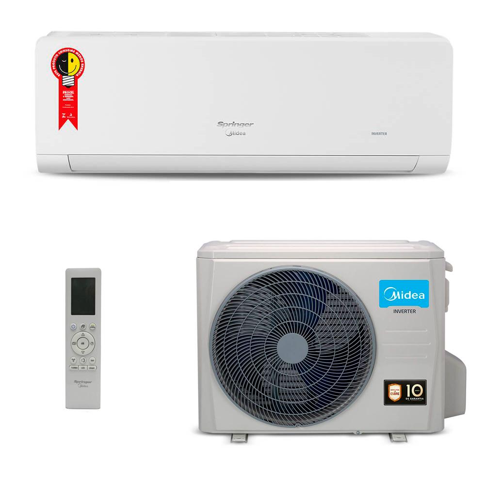 Ar-condicionado Split Hi-Wall Springer Midea Xtreme Save 9000 Btu/h 220V Frio 42AGCA09M5/38AGCA09M5