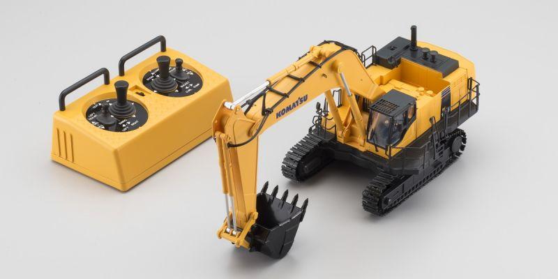 Hydráulic Excavator Komatsu PC1250-8 (HG) Radio Control 6 Ch Scale 1/50