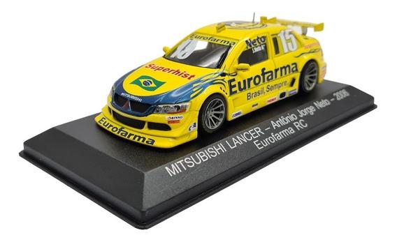 Stock Car: A Coleção Oficial - Fascículo + Miniatura: Mitsubishi Lancer (2006) - Antonio Jorge Neto
