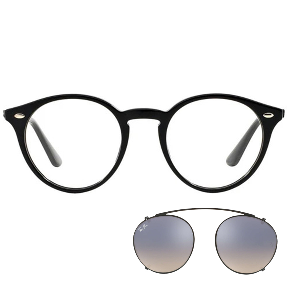 Ray Ban RB 2180V 2000 49 + Clip On