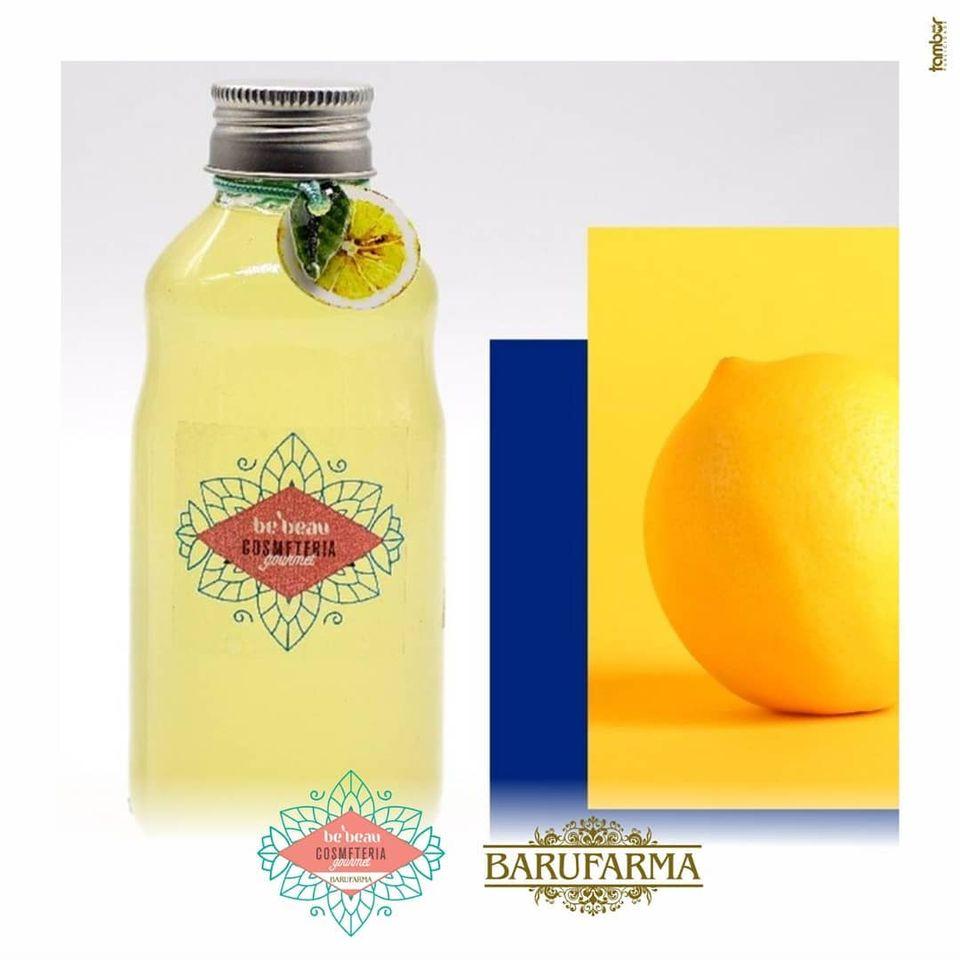 Calda Corporal para Banho de Limão com Baunilha