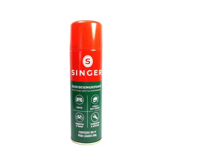 Spray desengripante Singer Frasco 300ml