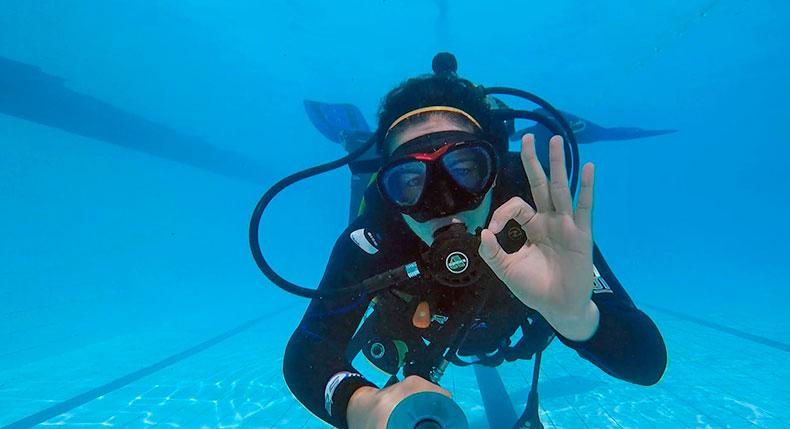 Mergulho - Curso Avançado ScubaMinas