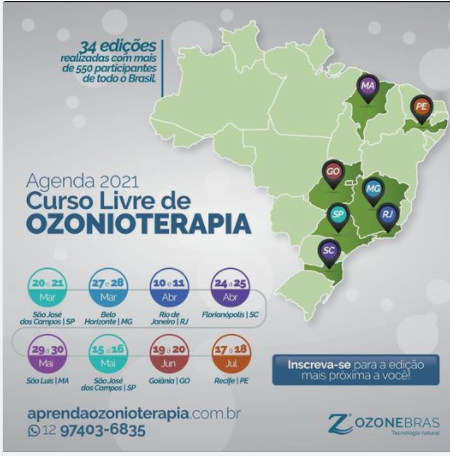 CURSO LIVRE DE OZONIOTERAPIA