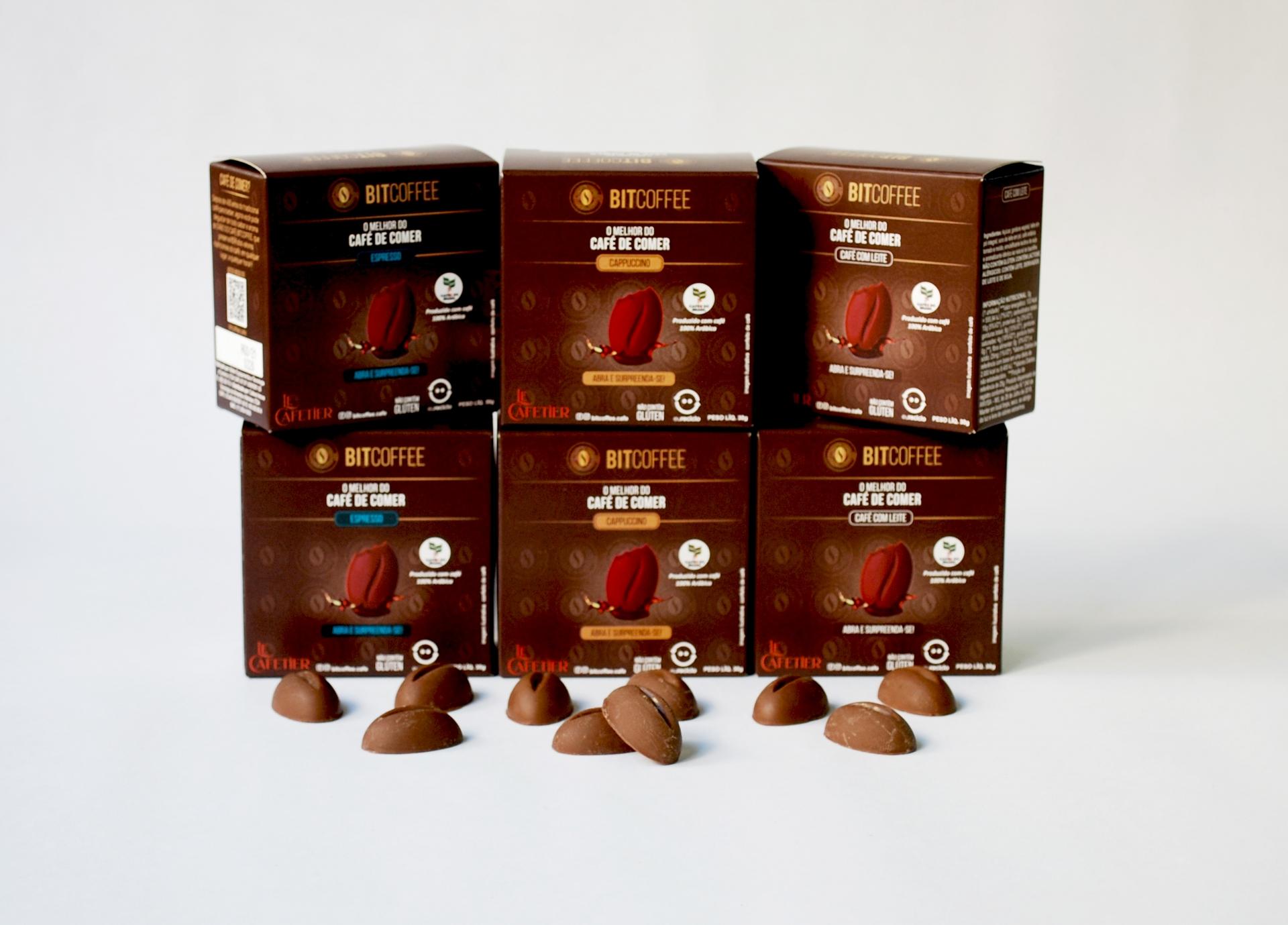 Combo Sabores - 6 x Confeito de Café 30g