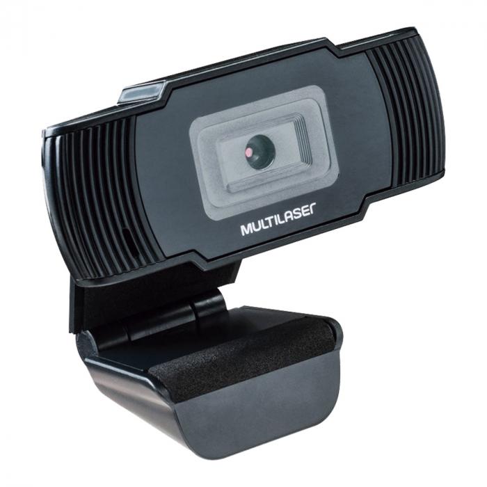 Webcam Office HD 720P USB Preta - AC339 - Multilaser