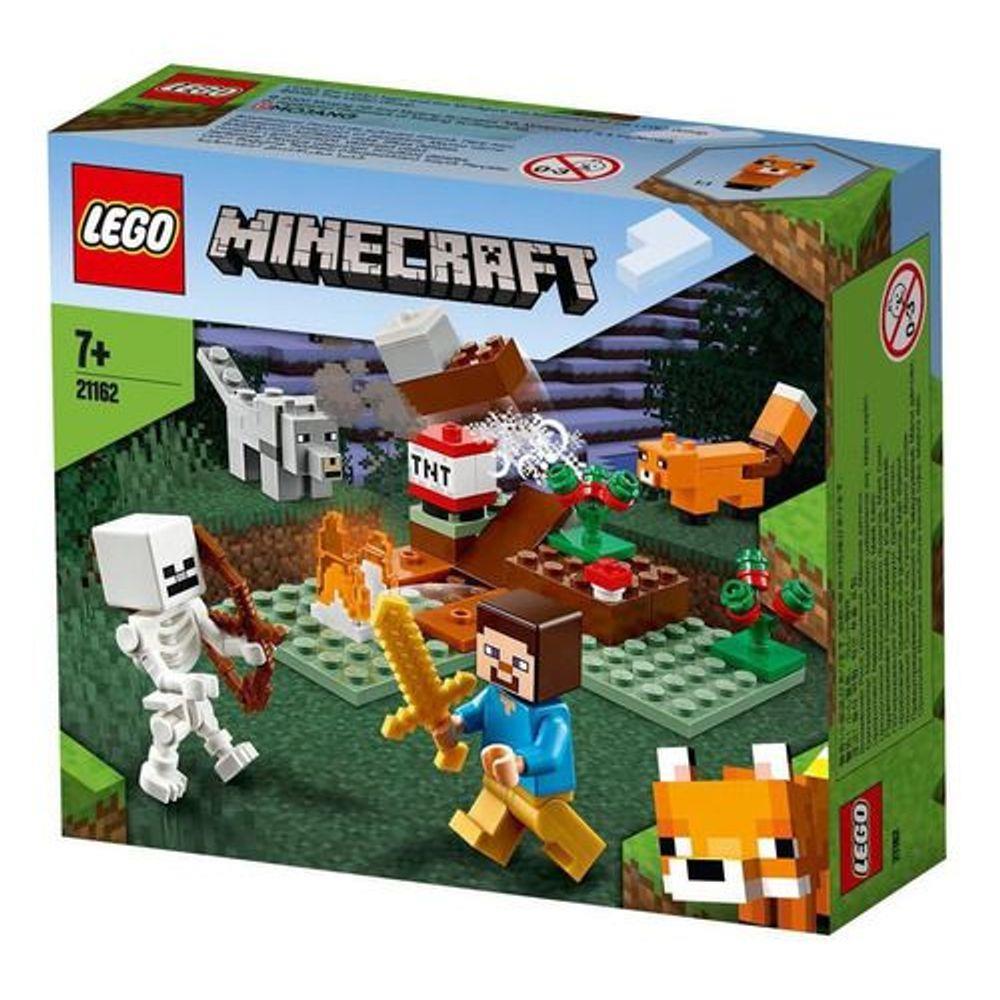 Lego Minecraft - A Aventura Em Taiga - 21162