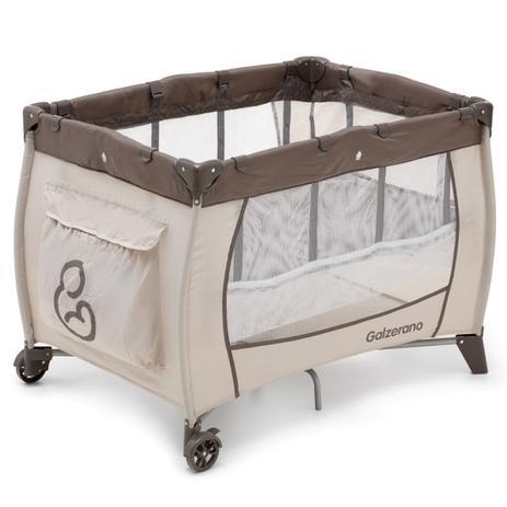 Berço De Bebê Portátil Sonho Cacau - Galzerano