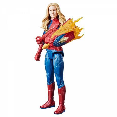Boneco Capitã Marvel Titan Hero Power Fx - E3307 - Hasbro